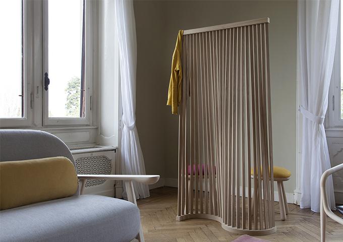 Paravento MORI- design Setzu e Shinobu Ito per Slowood