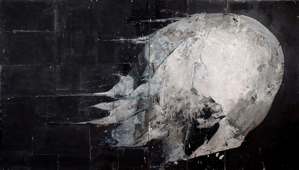 Nicola Samorì, Soluzione, 2009, olio su rame