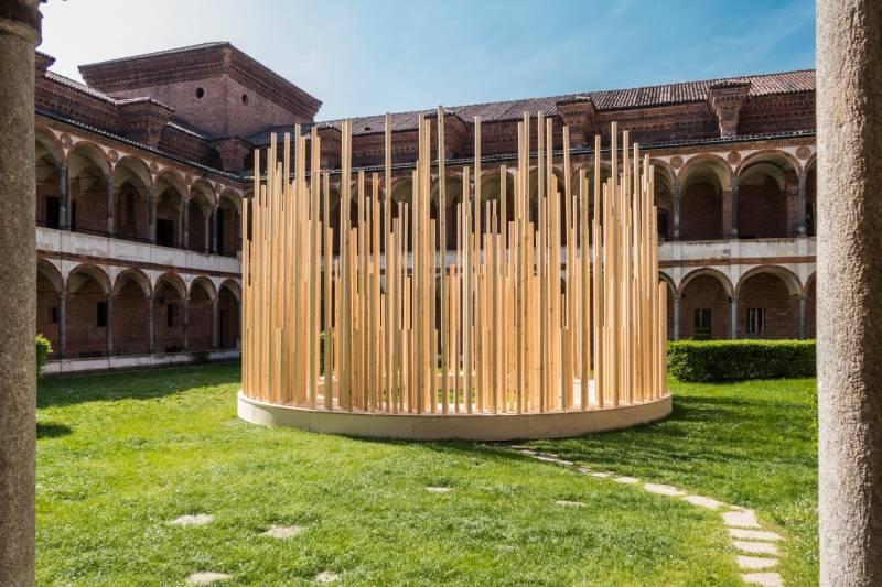 Open Borders, l'installazione Radura di Stefano Boeri