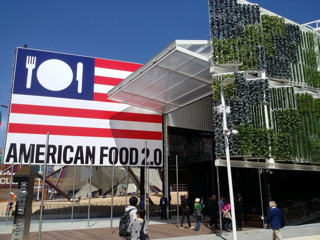 Esterno del Padiglione U.S.A. ad Expo2105jpg (1)