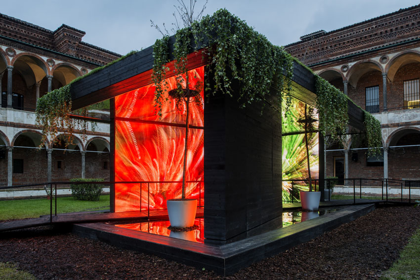 Fuori Salone 2013-HYBRID ARCHITECTURE & DESIGN- installazione House of the Senses di Christophe Pillet