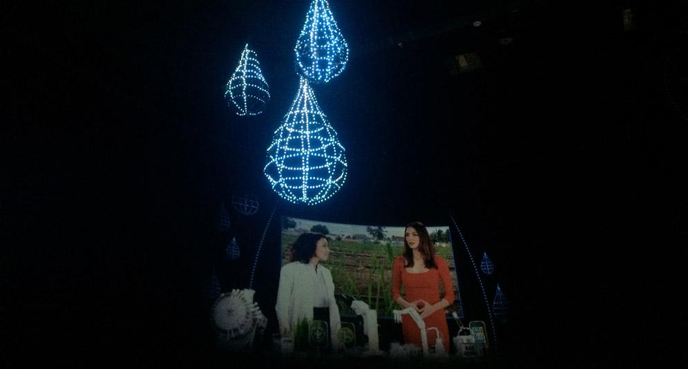 La ricerca tecnologica per l'irrigazione, nel padiglione di Israele ad Expo