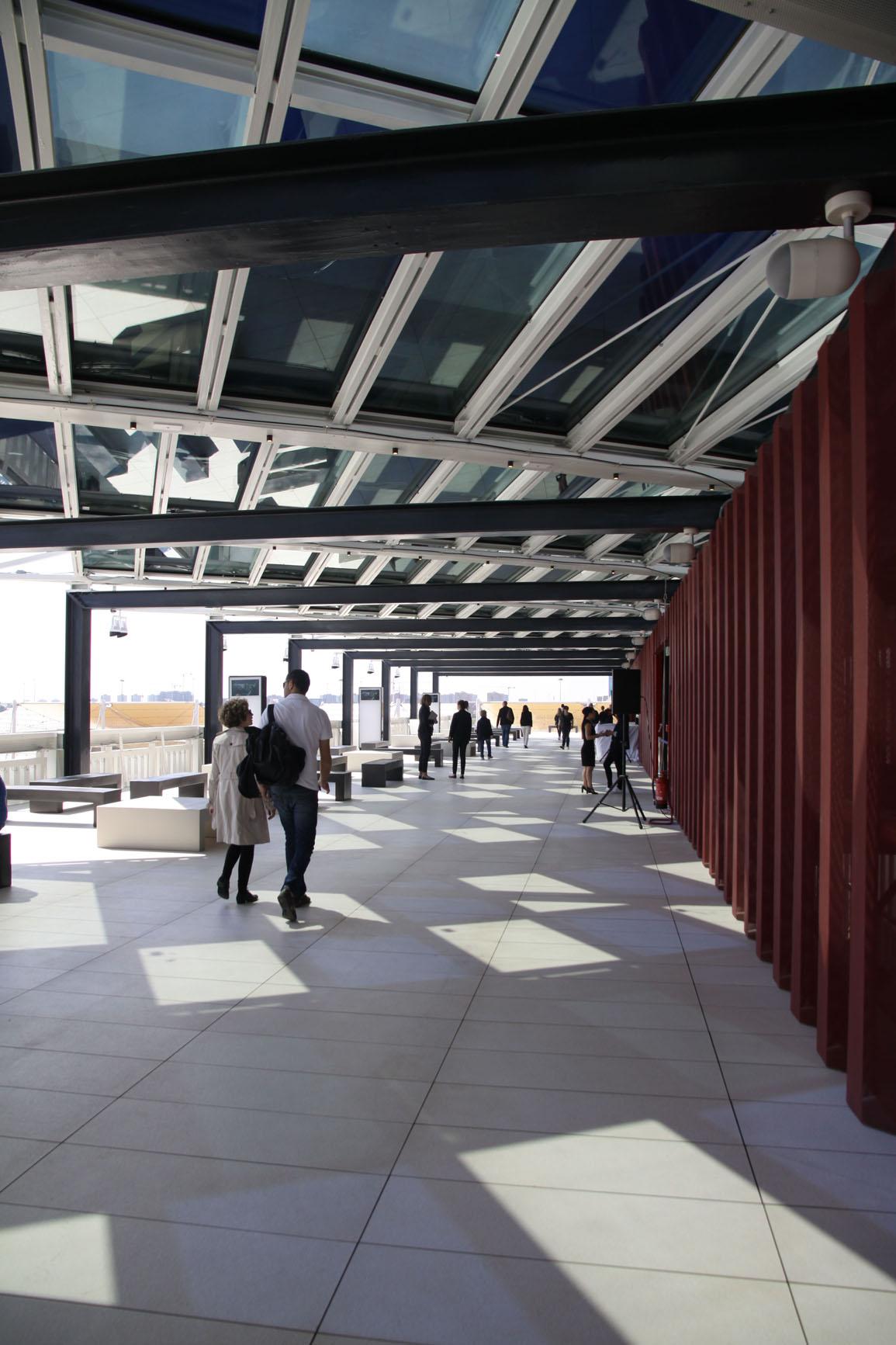 La terrazza del padiglione U.S.A (1)