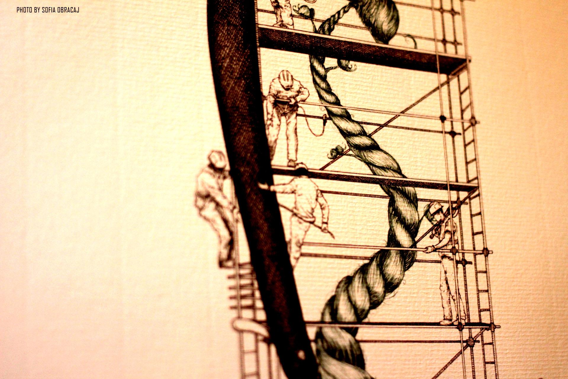 L'albero dei Baffi per Codex Arboreum Maior, particolare