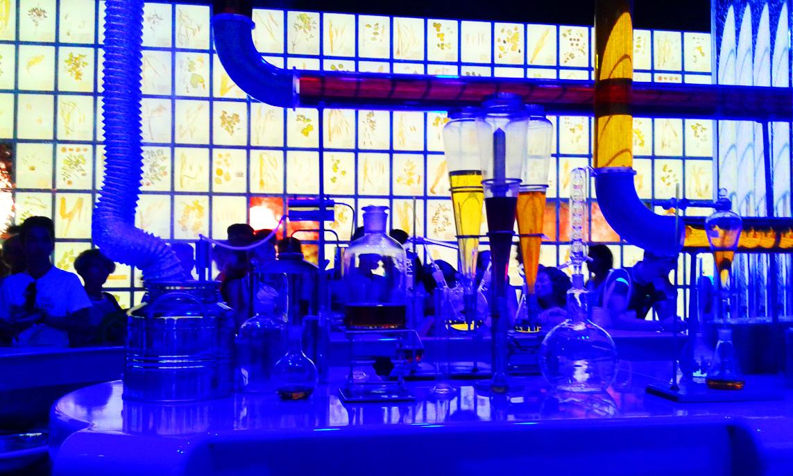 Padiglione Russia- il bancone per le degustazioni di bevande (1)