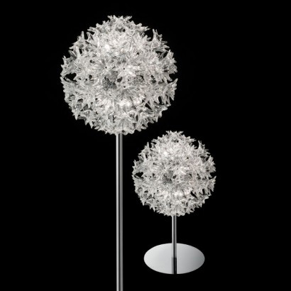 Esprit , lampada da terra e da tavolo, 1970