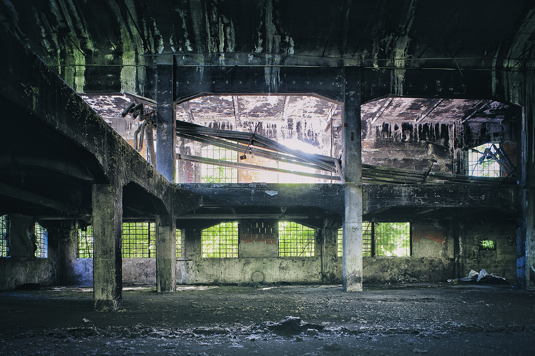 "Marc Kalinka""The fear of the abandonment. Cells"". Lambda print on alluminum, 30x45cm, edition of 25."