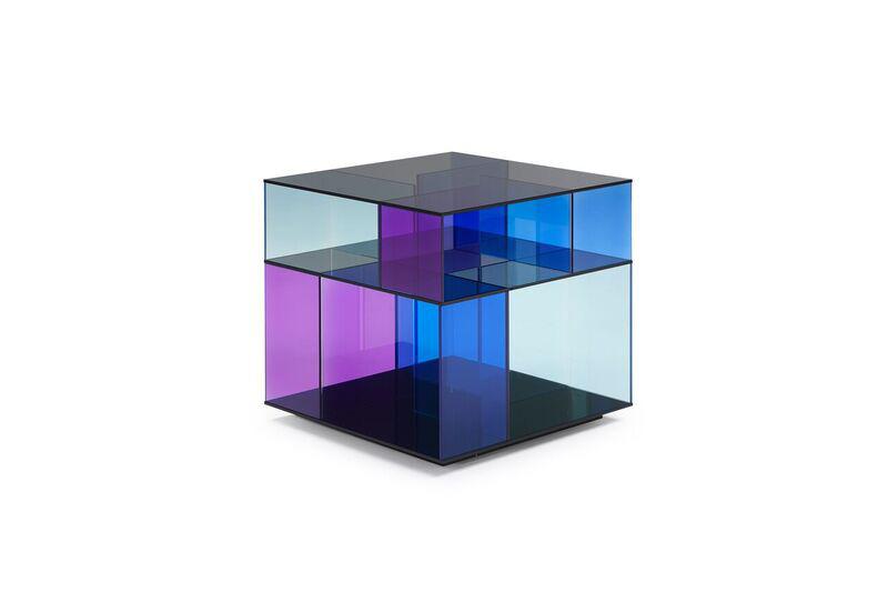 Natuzzi- tavolino Labirinto, design Claudio Bellini