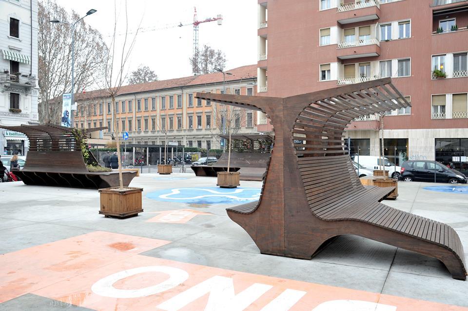 Una vista del Giardino delle Culture in via Morosini, ph. Comune Milano