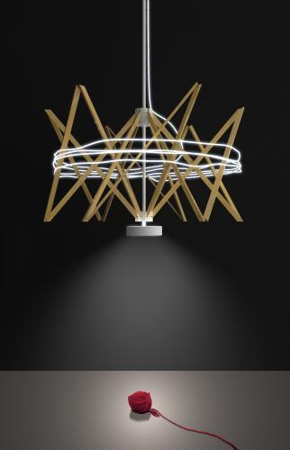 lampada Arianna design Baldessari e Baldessari per Pallucco Italia