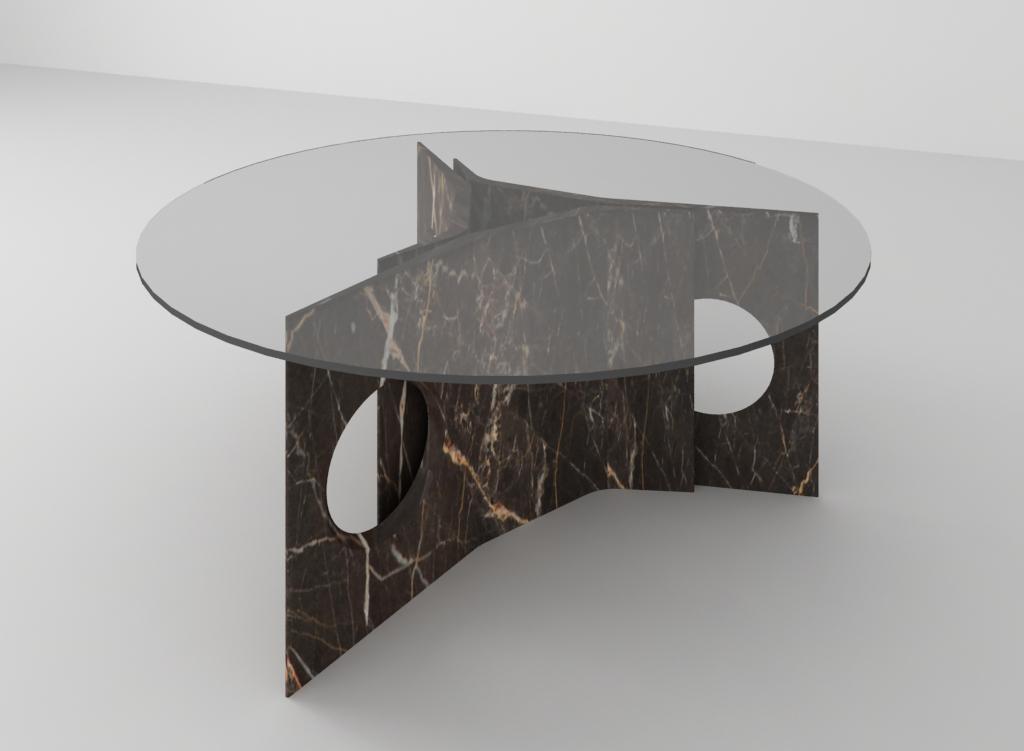 tavoli Filo design Baldessari e Baldessari per Luce di Ferrara