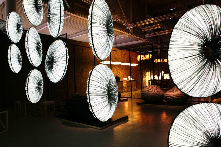 Aqua Creations negli spazi di Superstudio Più durnate il Fuorisalone 2011