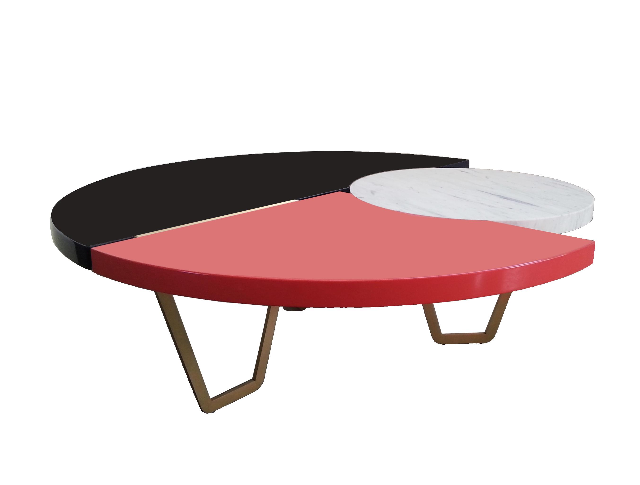 Collezione Eclypse, tavolo From Above Marble, design Hagit Pincovici