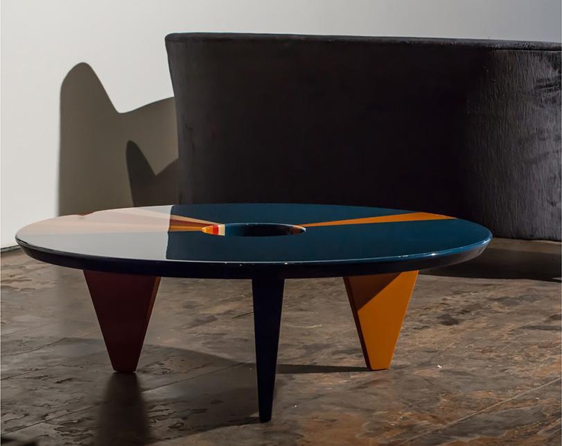Collezione Metaphysics, tavolino Lifestyle, design Hagit Pincovici
