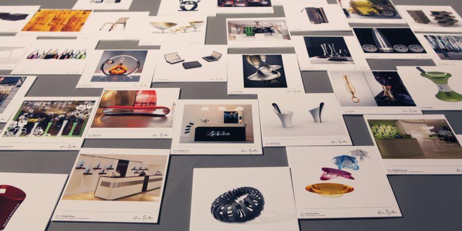 Eric Berthes- progetti per oggetti, mobili e gioielli