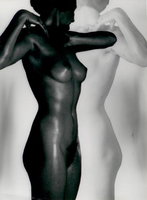 Heiz Hajek Halke, Nudo in bianco e nero, studio preliminare 1930-1936