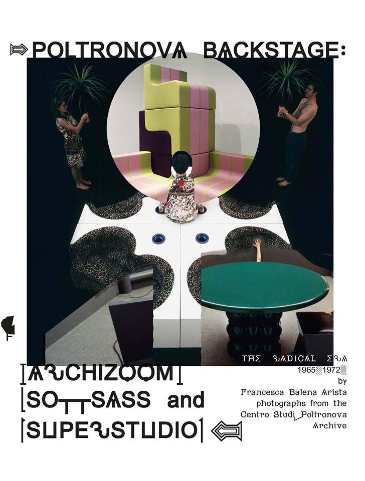La copertina di Poltronova Backstage, edizioni Il Fortino