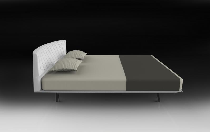 Letto SHELLON, design Setzu e Shinobu Ito per Euromobil- Desirée