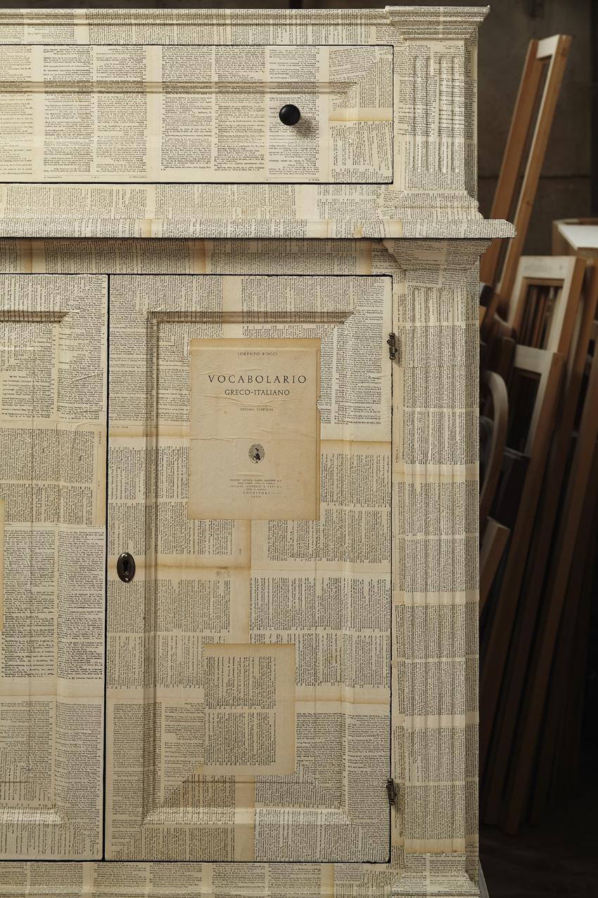Libreria Greco ( Rocci 1936) , collezione Fz, design Francesco Rosi per Città Castello