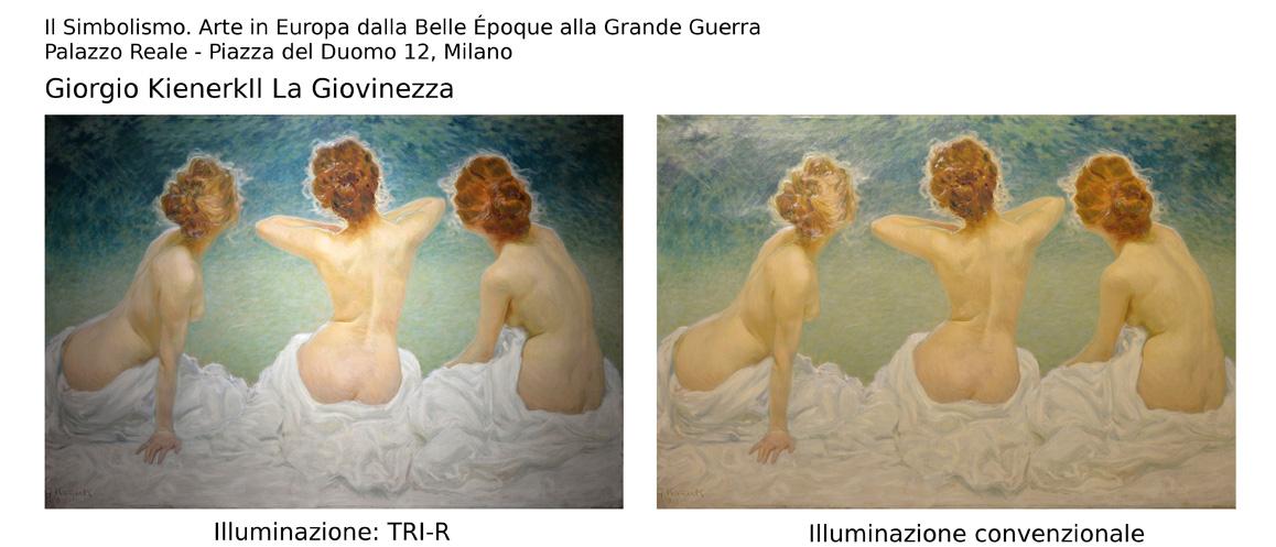 Prima e dopo TRI-R de La Giovinezza di Giorgio Kienerk