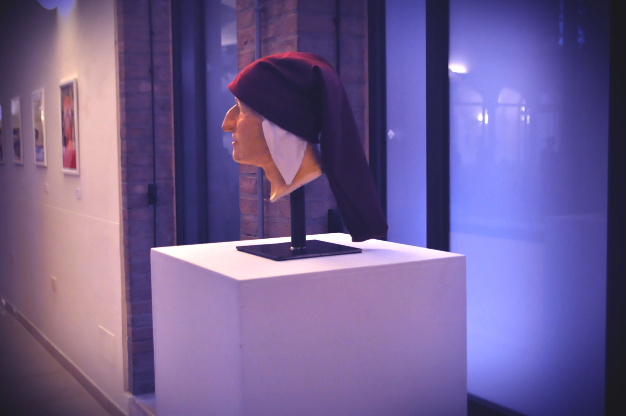 Il volto di Dante Alighieri secondo la ricostruzione facciale dell'Università di Bologna