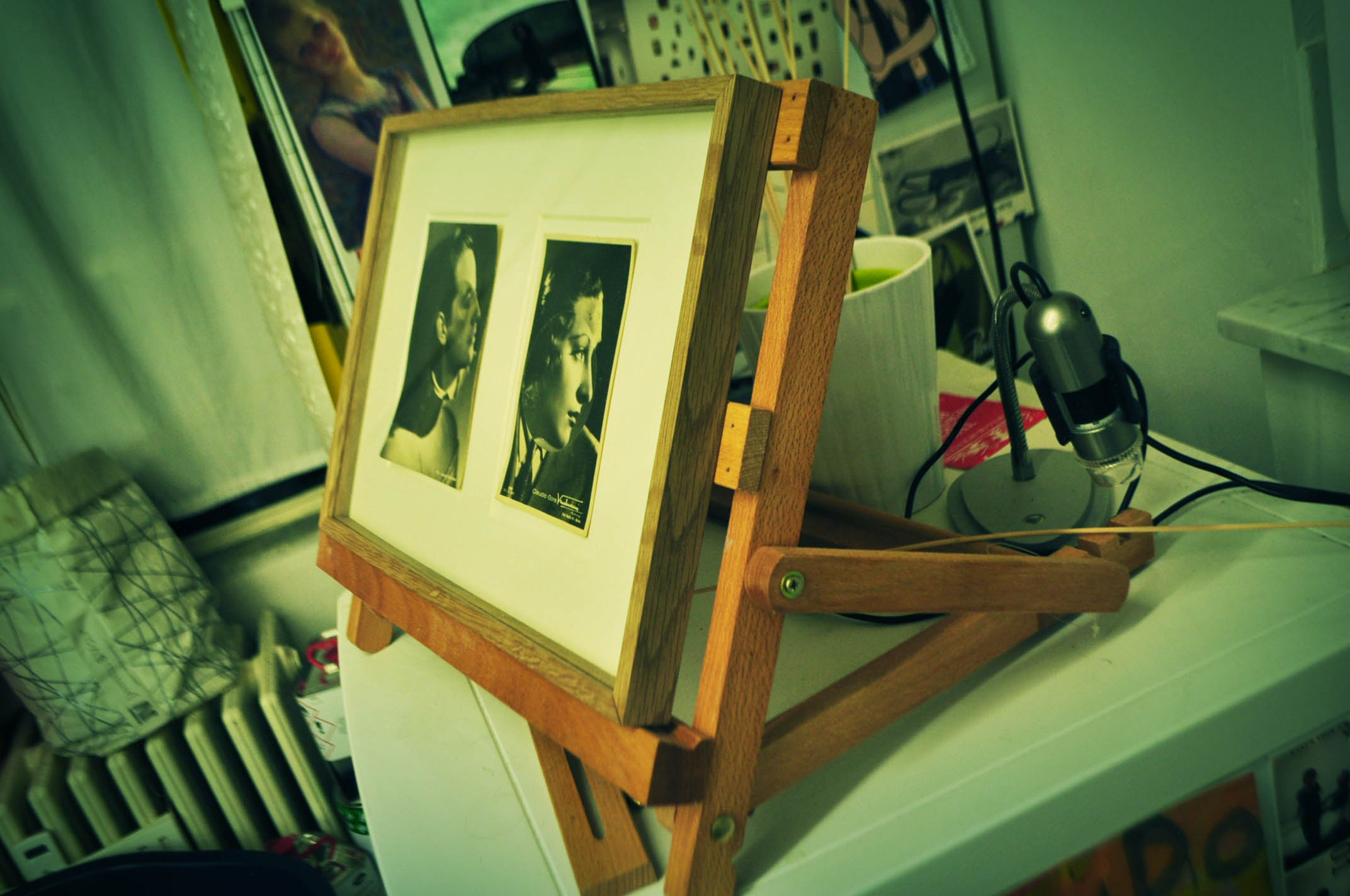 Il restauro è anche fotografico presso lo studio Dolcetti