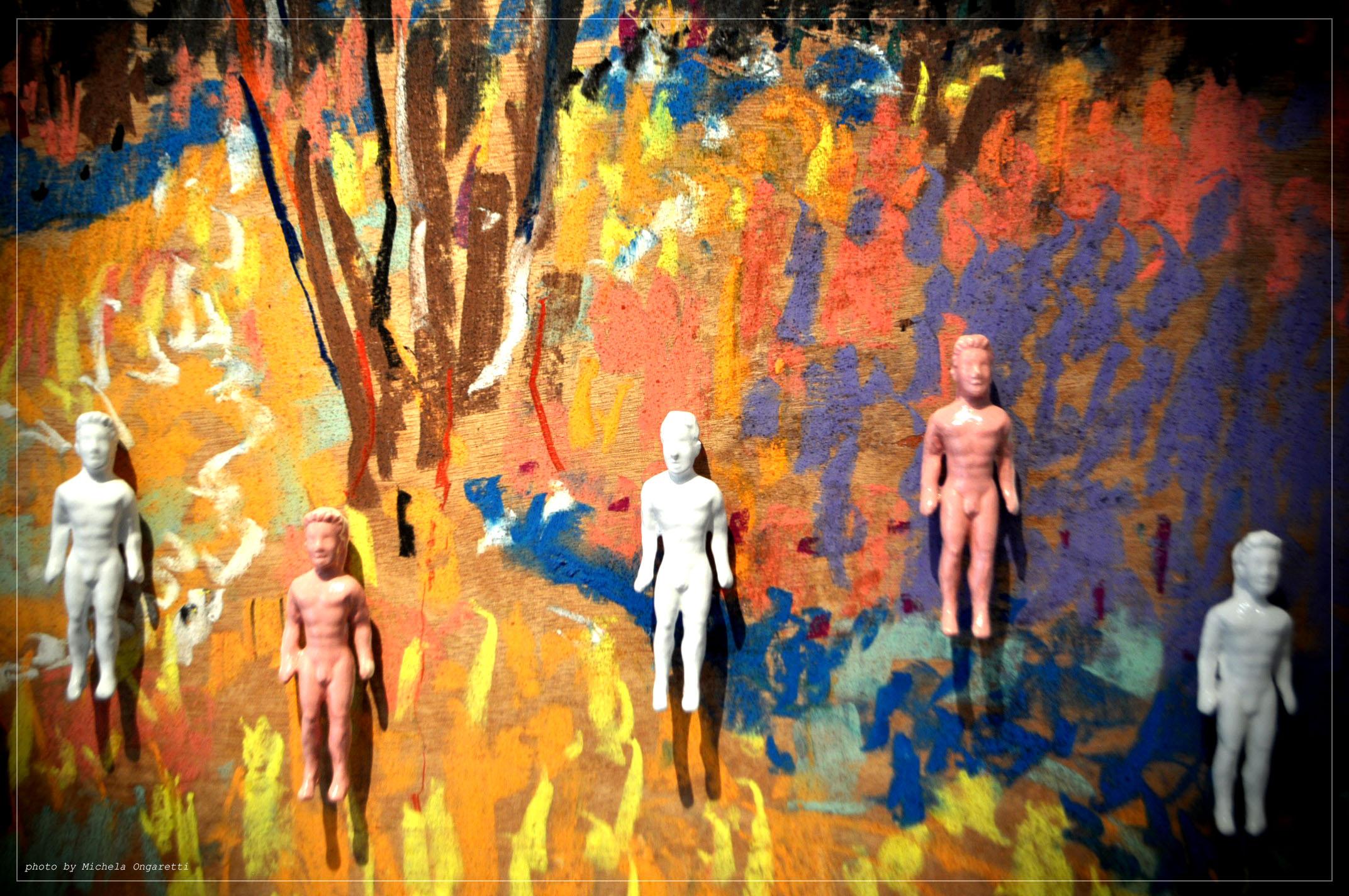 Pittura e scultura a confronto