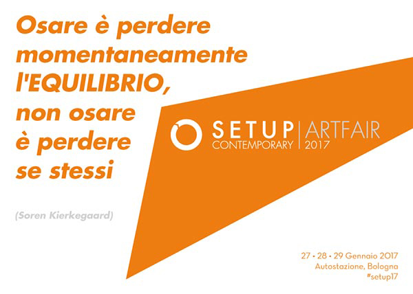 Logo e tema di SetUp Contemporary Art fair, edizione 2017