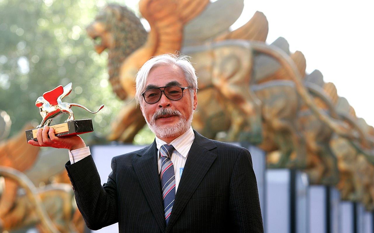 Miyazaki ritira il Leone d'oro alla carriera a Venezia