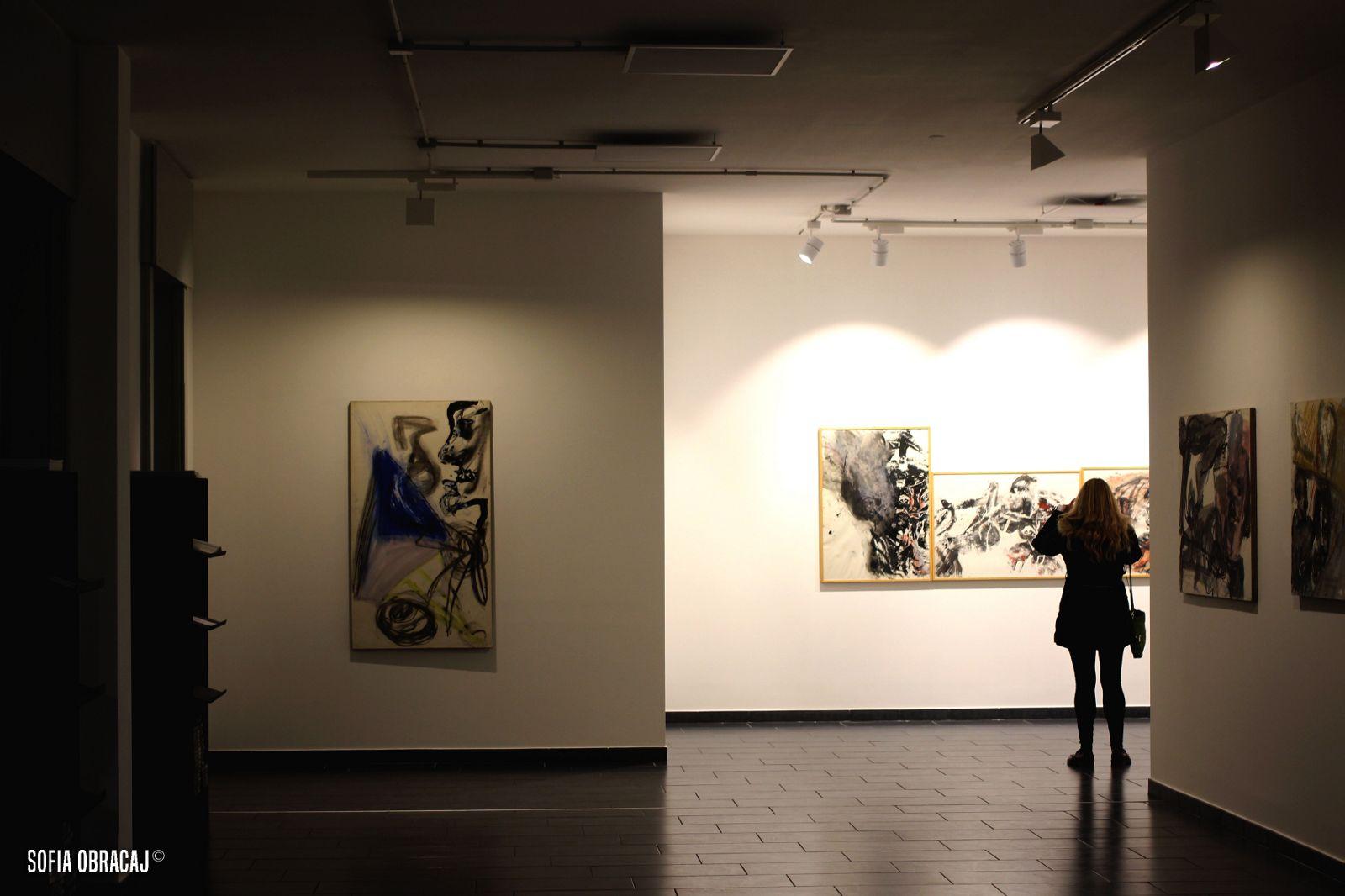 Artscore visita la mostra Martin Disler-Opere su carta presso lo Studio d'Arte Cannaviello, ph. Sofia Obracaj