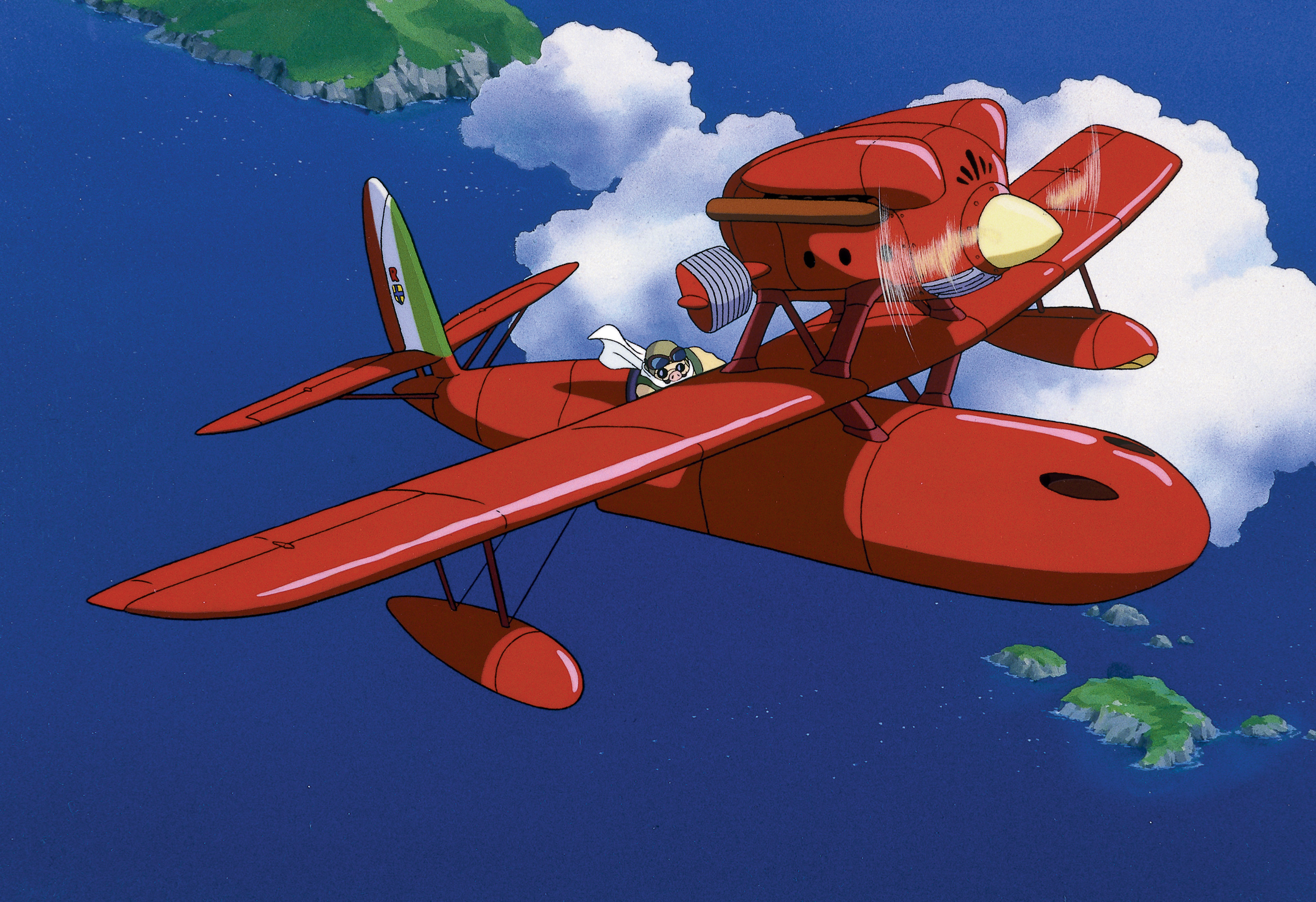 Porco Rosso vola sull'Adriatico