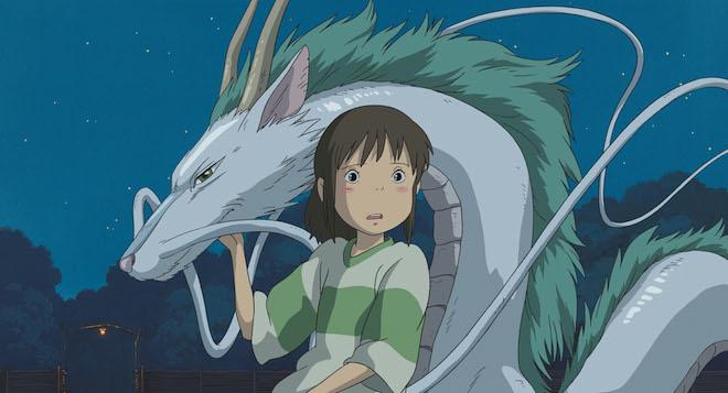Chihiro e Haku, personaggi de La Città Incantata, 2001