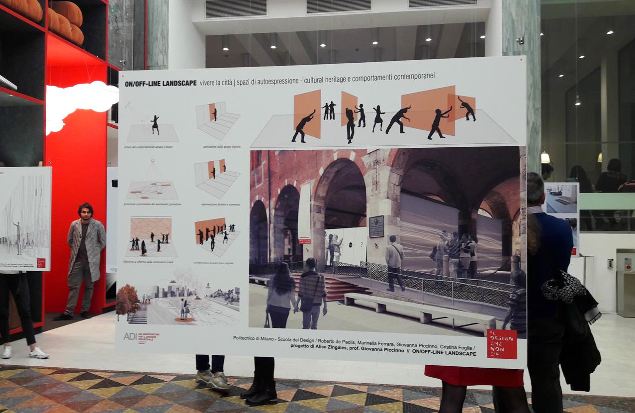 Progetto per spazi di autoespressione, il design di città presso la Triennale di Milano