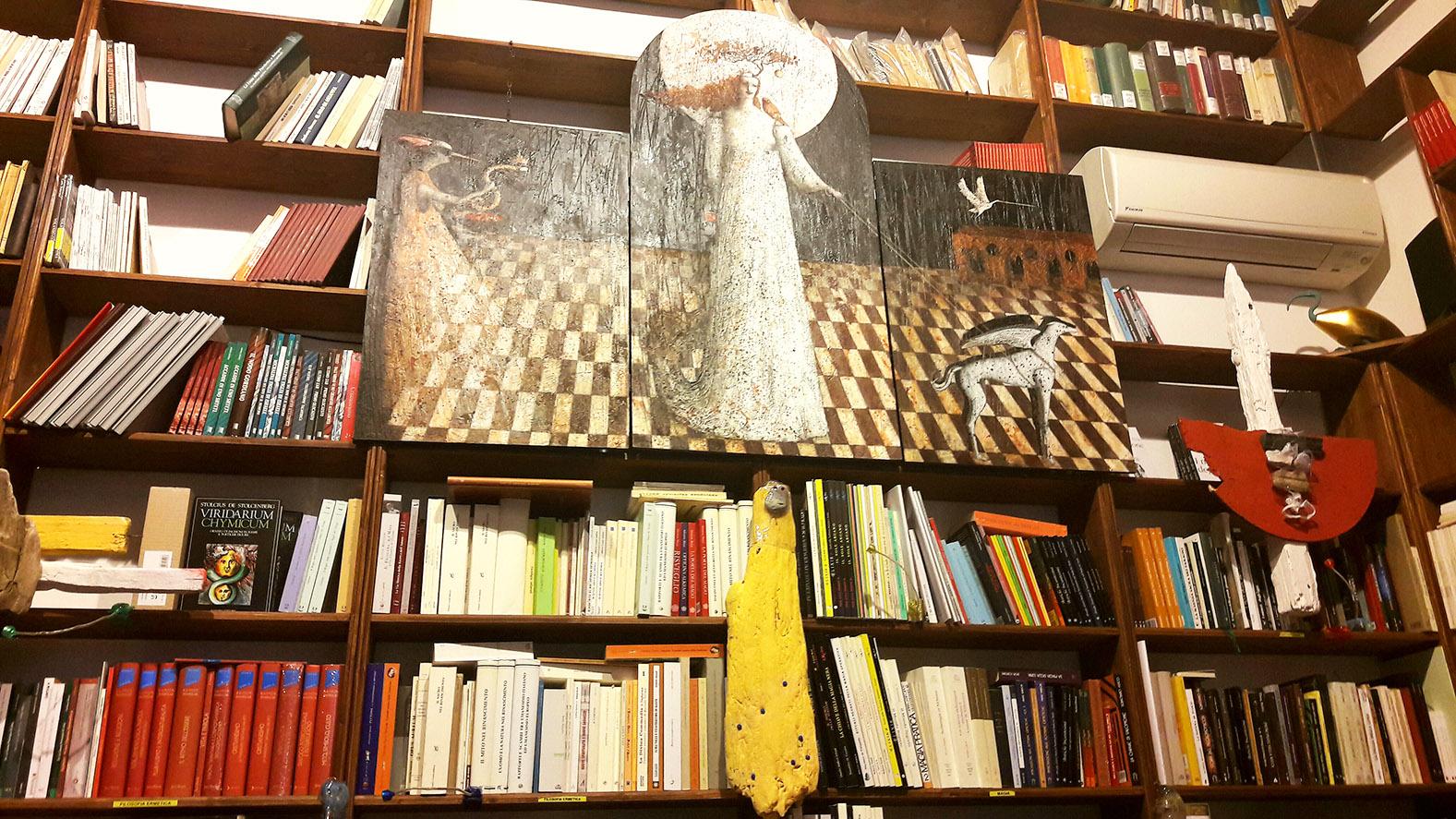 Mostra presso la Libreria Ibis di bologna