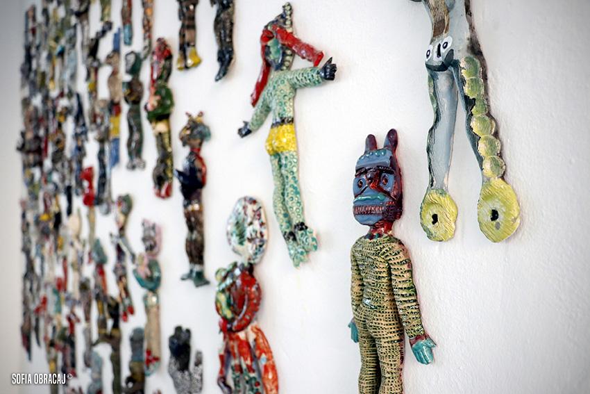 Creature extraterrestri come idoli messicani, Saraï Delfendhal