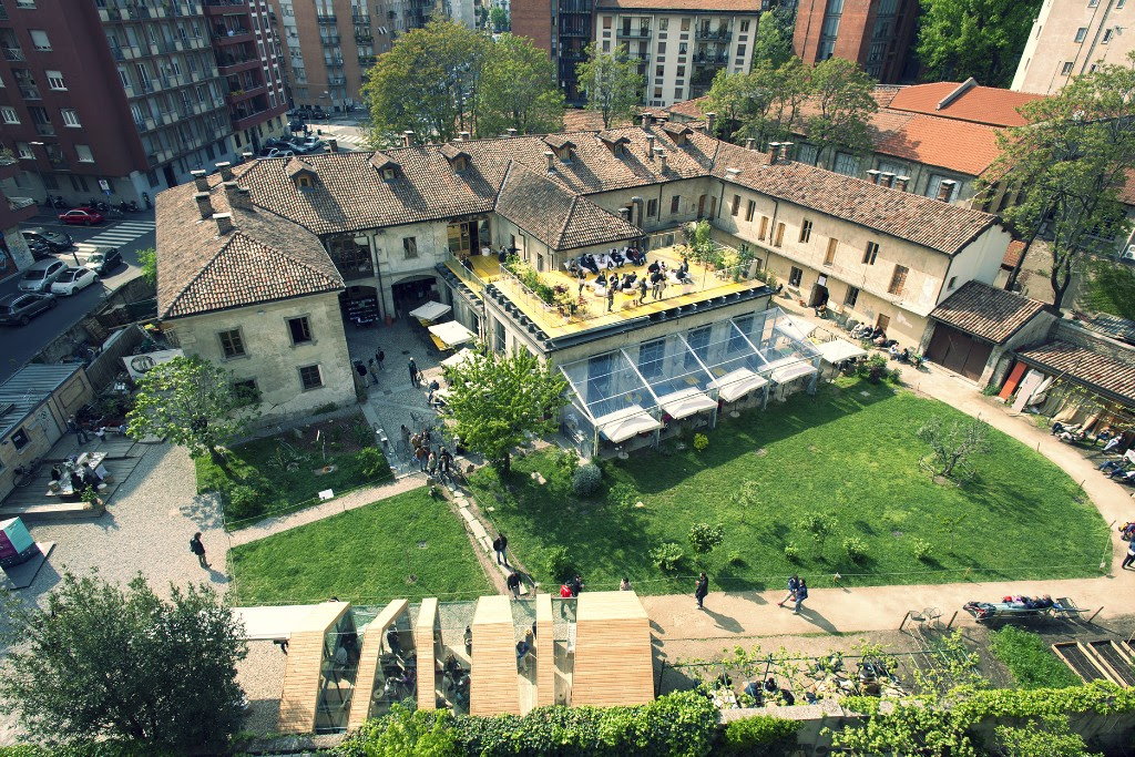 La cascina cuccagna di Milano per la Design Week milanese