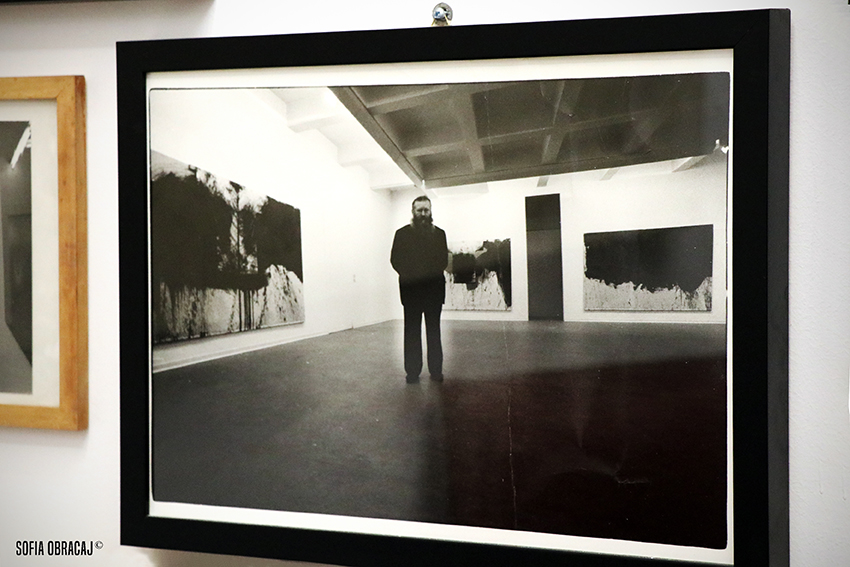 Una foto storica di hermann Nisch nella galleria di Cannaviello in via Cusani