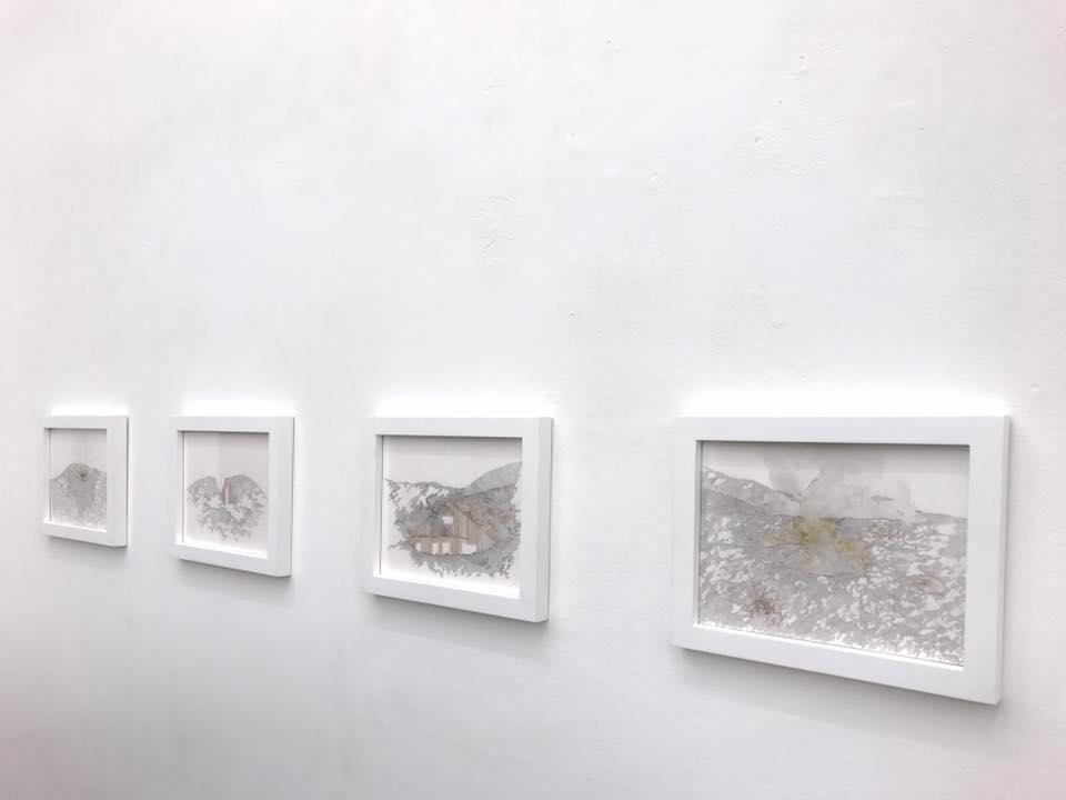 I lavori di Tamara Ferioli in mostra presso Officine dell'Immagine