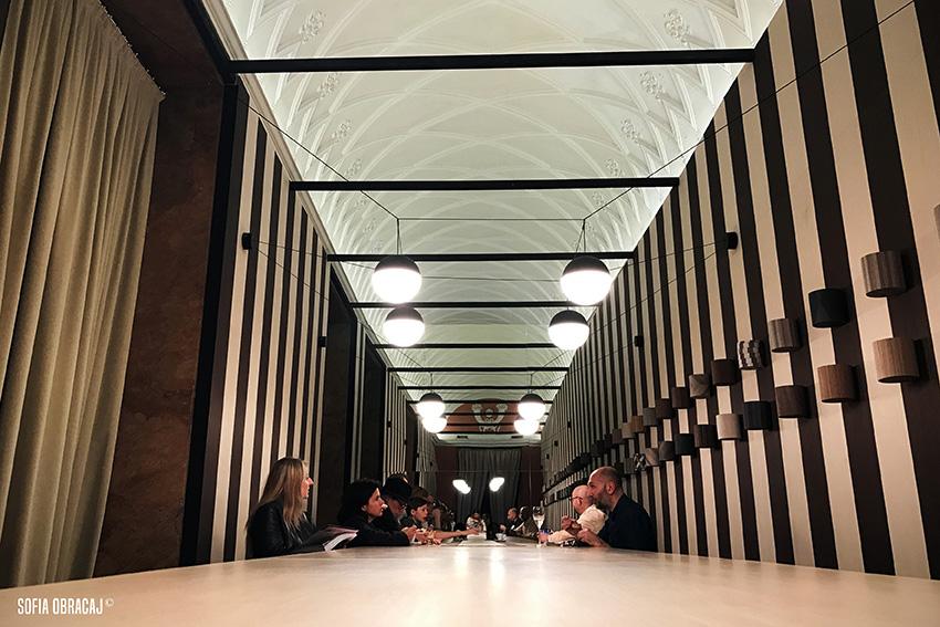 Allestimento in legno a Palazzo Bovara con Concept Store. Elle Decor alla MDW 2017