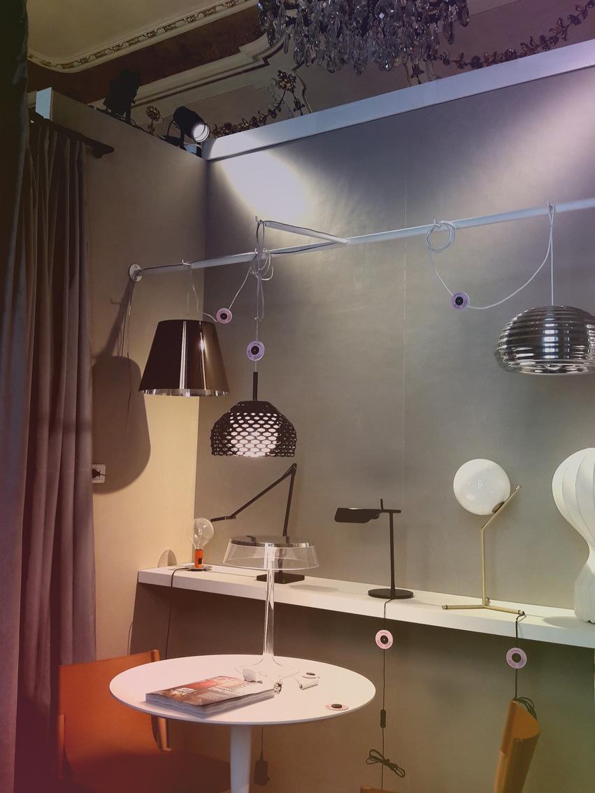 Nello spazio privato del camerino,Palazzo Bovara con Concept Store. Elle Decor alla MDW 2017