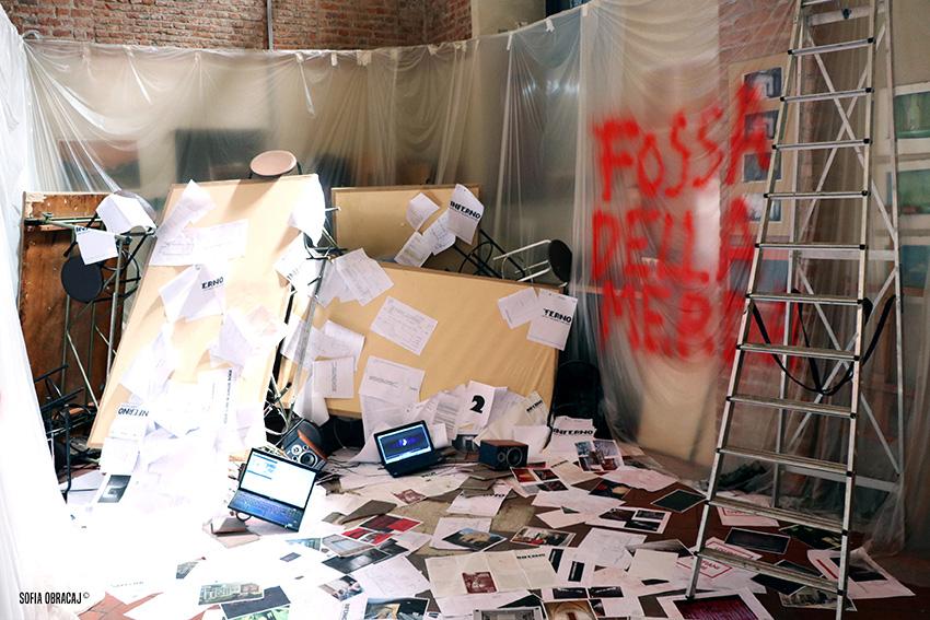 Scenografia dantesca, Brera Accademia Aperta 2017