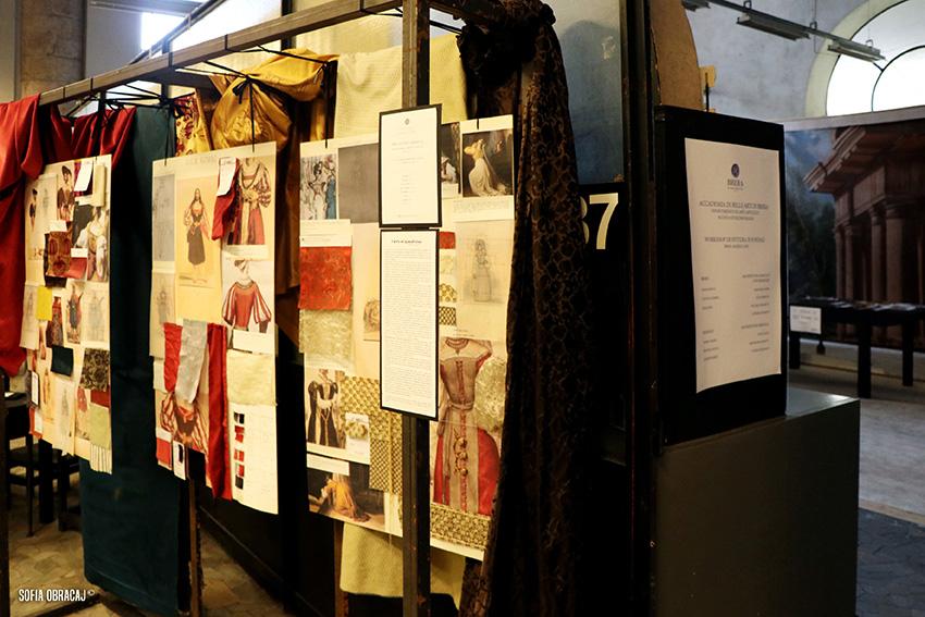 Costumi di scena per Brera Accademia Aperta 2017