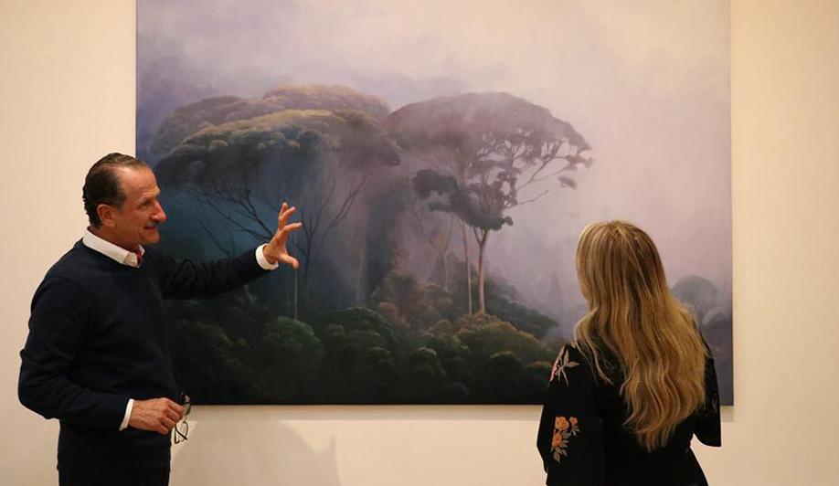 Paesaggio nella nebbia con velature. Intervista di Artscore a Jorge Cavelier