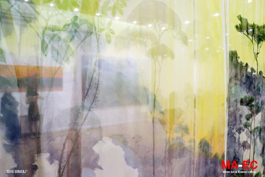 Paesaggio su seta da attraversare, in mostra a Milano