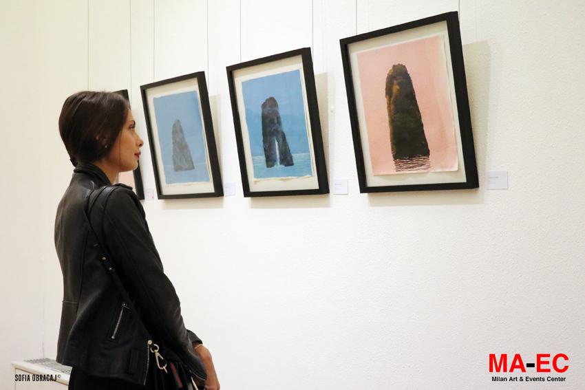 Paesaggio di isole in mostra a Milano