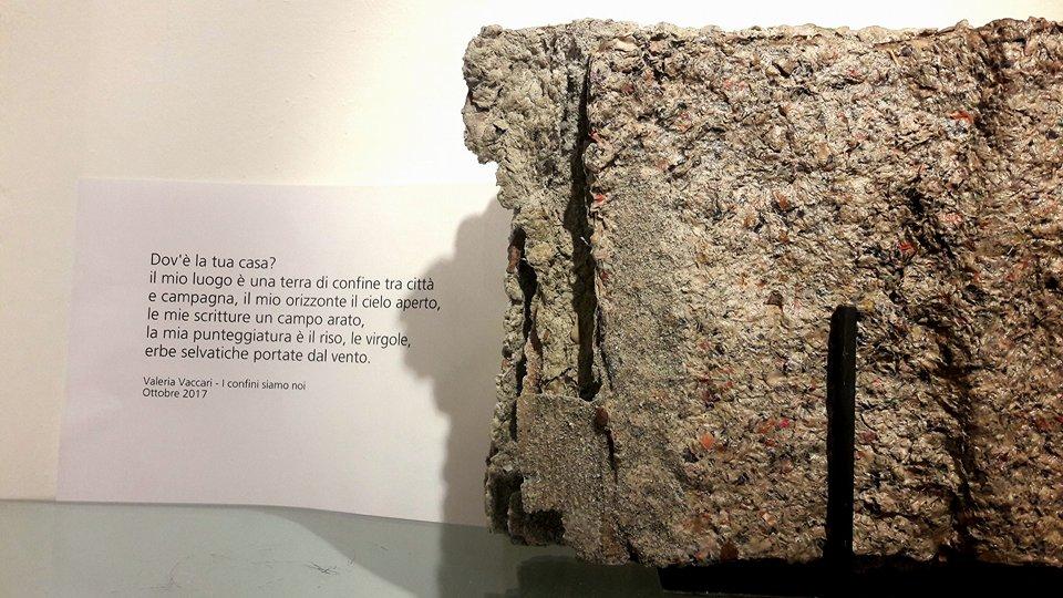 La natura nella pietra artificiale di Daniela barzaghi e nella poesia di Valeria Vaccari