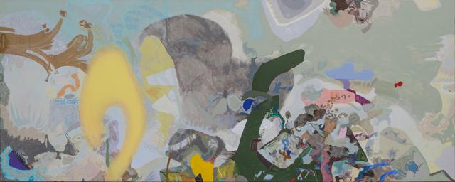 Geometria di 906090. Codri Earthquake 9'' di Victoria Stoian in mostra presso la galleria Giuseppe Pero