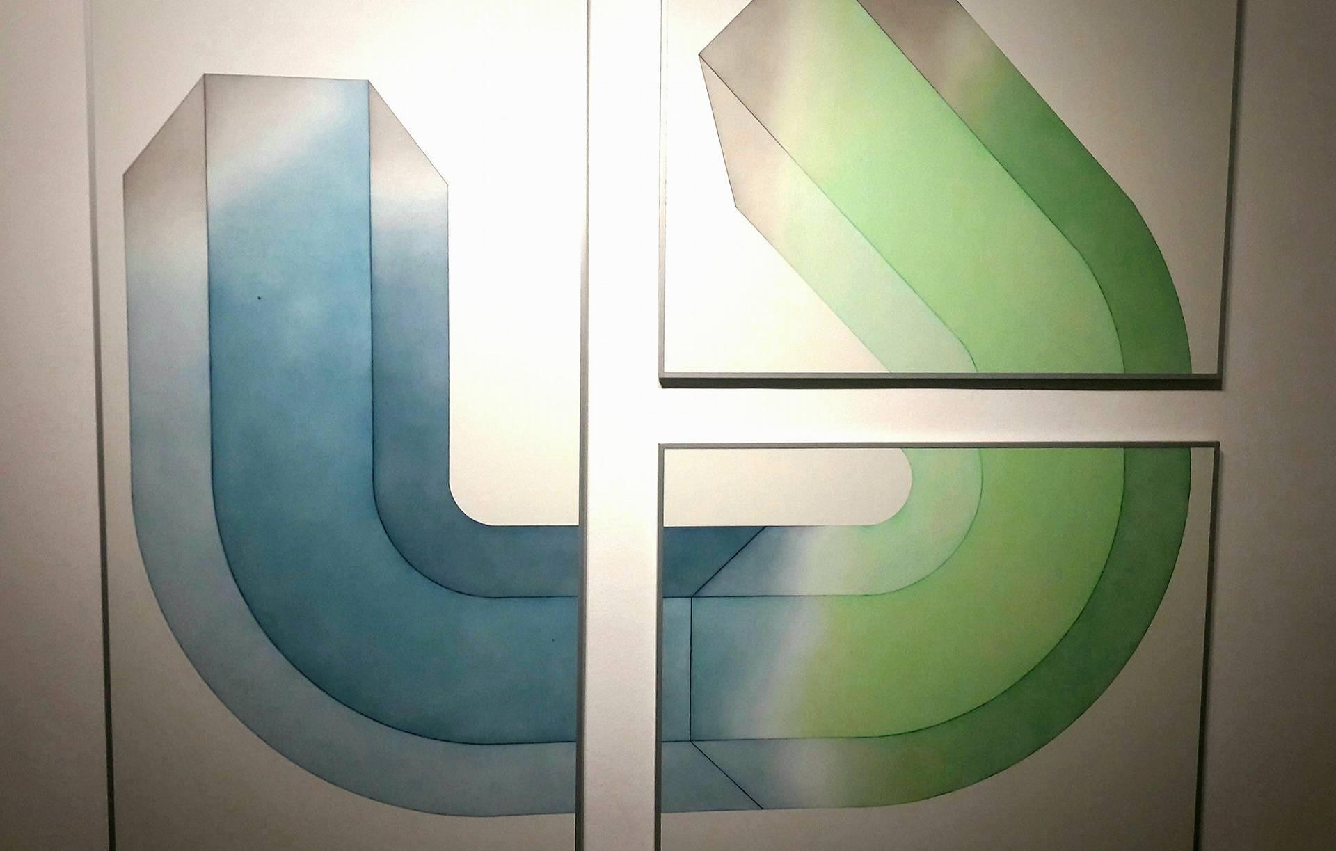 Geometria di 906090. Monica Mazzone in mostra presso la galleria Giuseppe Pero