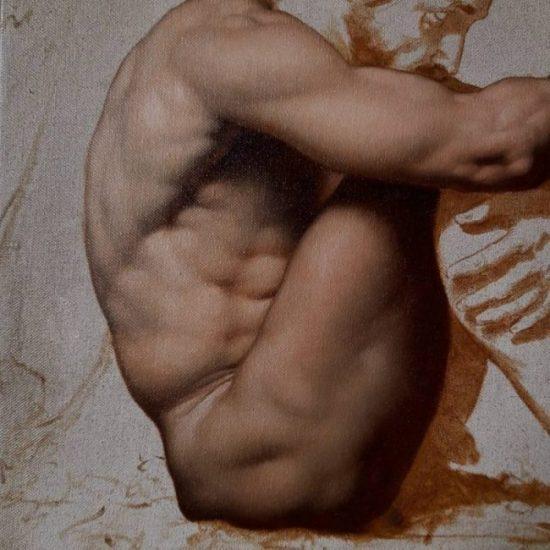 tra pittura e disegno