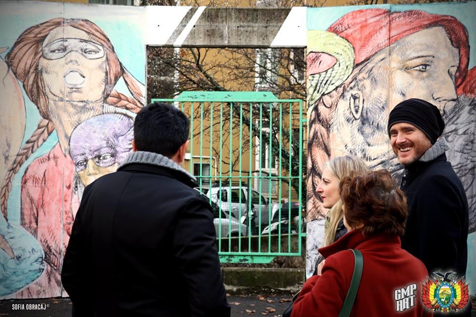 Street Art con Giovanni Manzoni. Un sorriso